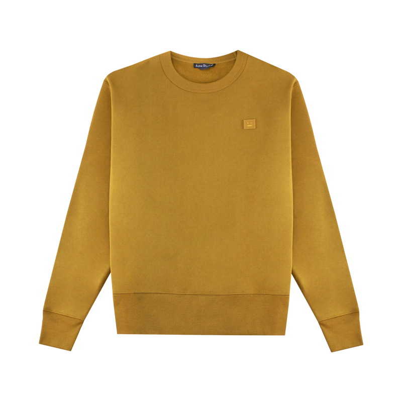 Acne Studios Fairview Face Sweatshirt [Caramel Brown]