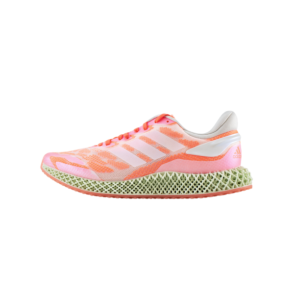 Adidas 4D Run 1.0 'White/Coral' [FW6838]
