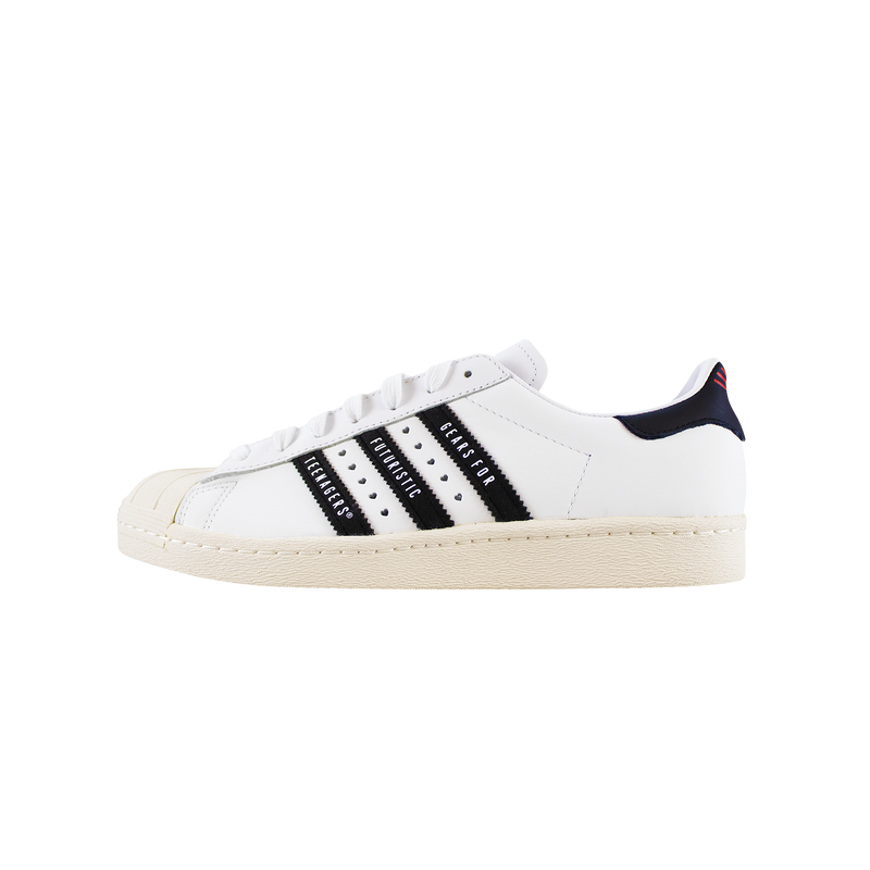 Adidas x Human Made Superstar 80s 'White/Black' [FY0728]