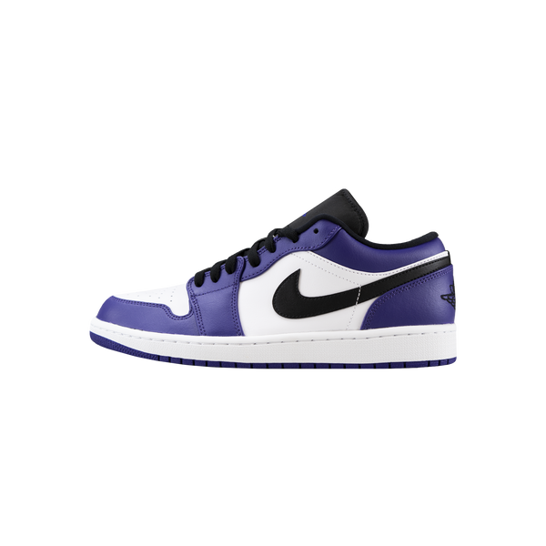 Air Jordan 1 Low 'White/Court Purple/Black'