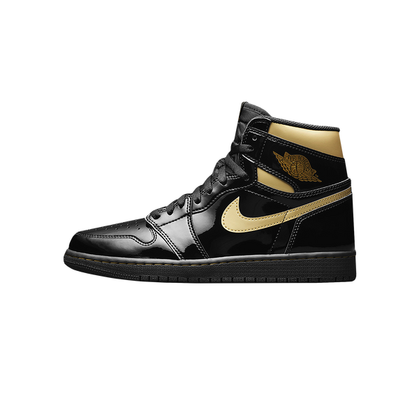 Air Jordan 1 Retro High OG 'Black/Metallic Gold' [555088-032]