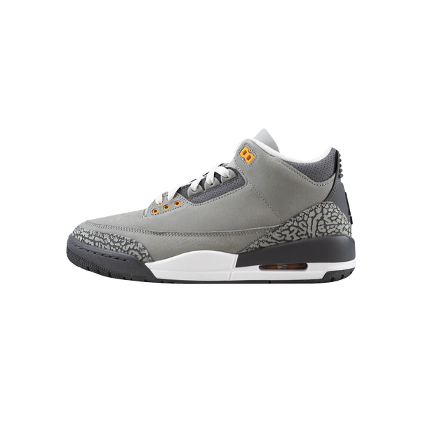 Air Jordan 3 Retro - Cool Grey 'Silver/Sport Red/Lt Graphite'