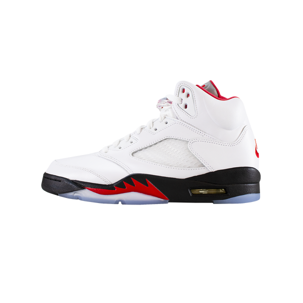Air Jordan 5 Retro 'Fire Red/Silver Tongue' [DA1911-102]