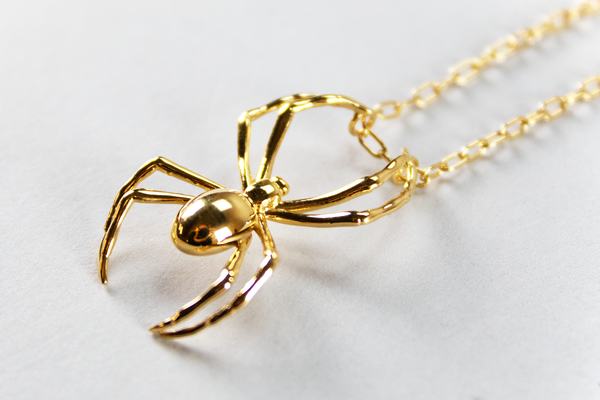 AMBUSH Spider Charm Necklace 'Gold'
