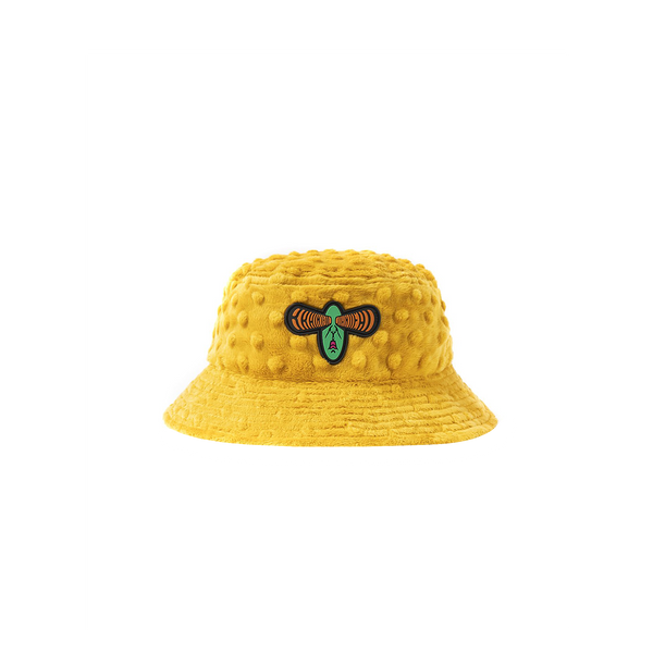 Brain Dead Embossed Bucket Hat 'Yellow'