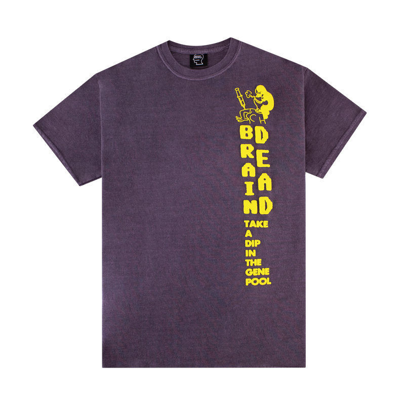 Brain Dead Gene Pool S/S Tee [Berry]