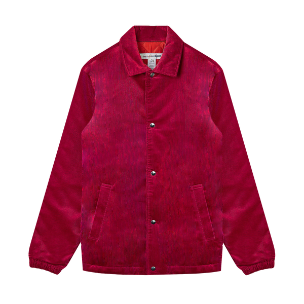 Comme des Garcons SHIRT Corduroy Jacket [Red]