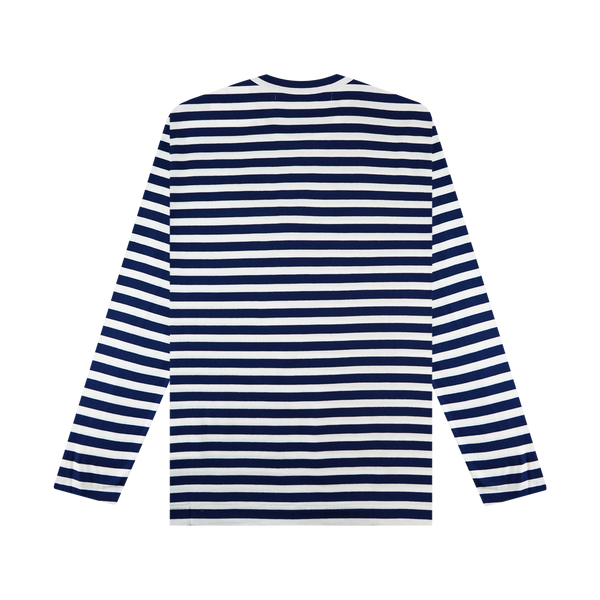 COMME des GARÇONS PLAY Striped T-Shirt 'Blue/White'