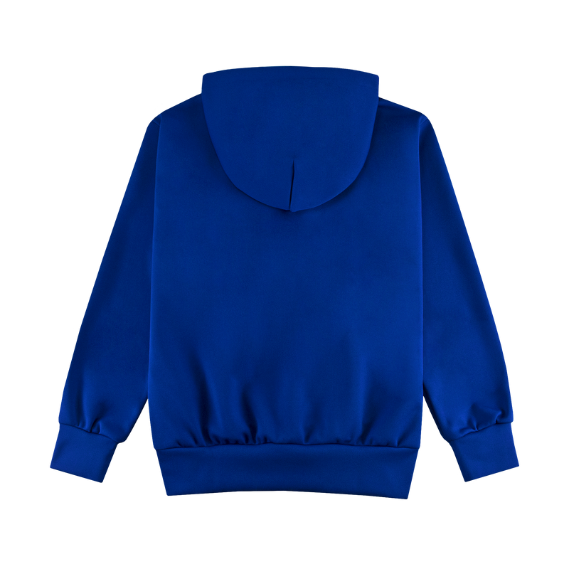 Comme Des Garcons PLAY Hooded Sweatshirt [Blue/Red]
