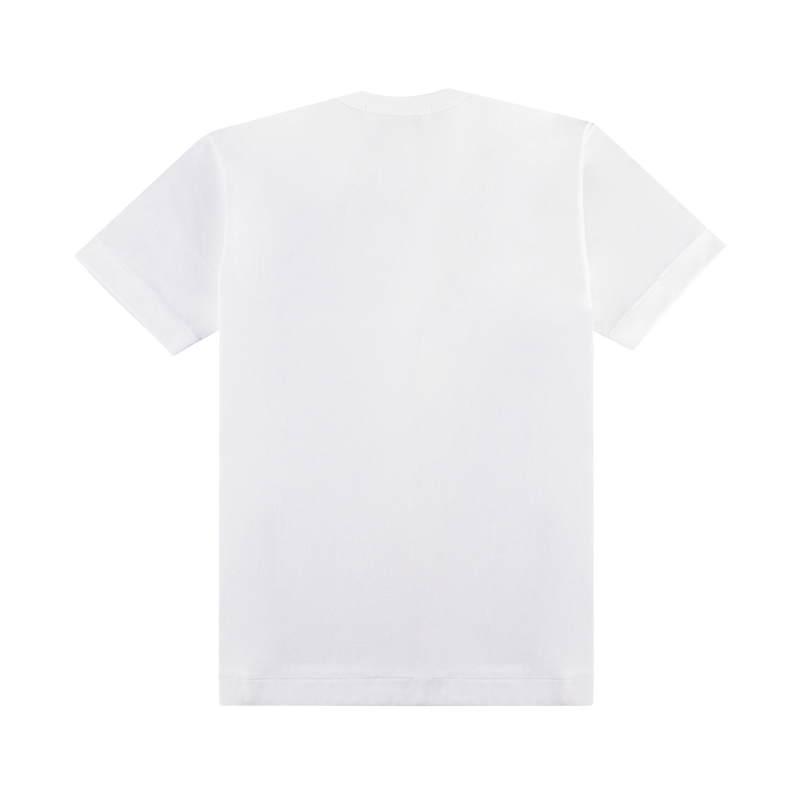 Comme des Garcons PLAY Slim Heart T-Shirt [White/Red]