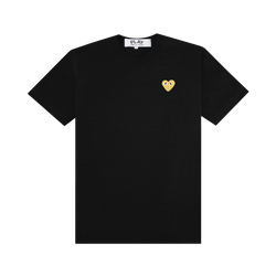Comme Des Garcons PLAY T-Shirt [Black/Gold]