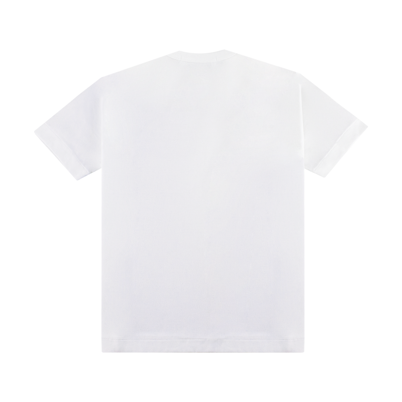 Comme Des Garcons SHIRT Logo Tee [White]