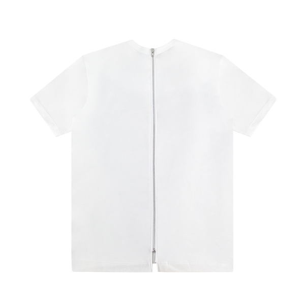 Comme des Garcons SHIRT Zip Up T-Shirt [White]