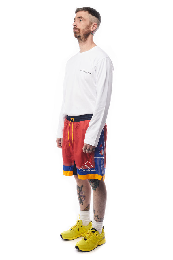 adidas X Eric Emanuel McDonalds Shorts 'Red'