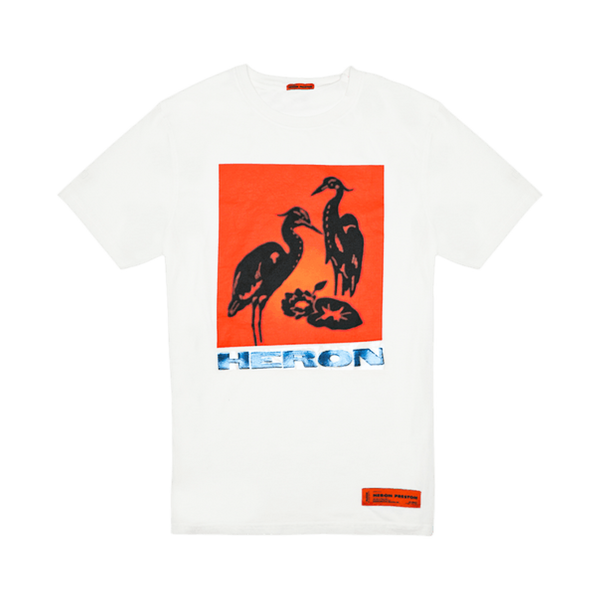 Heron Preston Herons Tape T-Shirt [Off White]