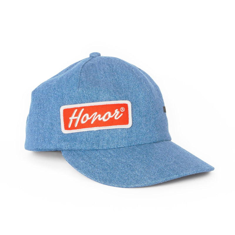 Honor The Gift Mechanic Hat [Light Wash Denim]