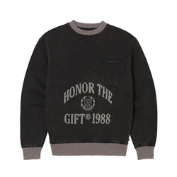 Honor The Gift 1988 Logo Crewneck [Faded Black]