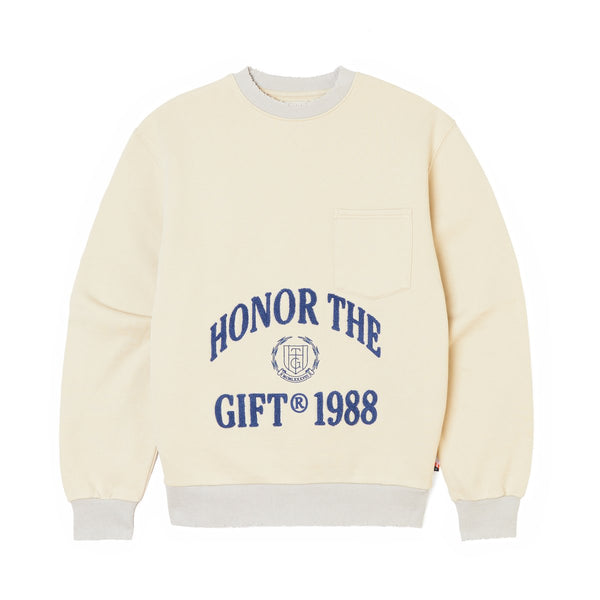 Honor The Gift 1988 Logo Crewneck [Off White]