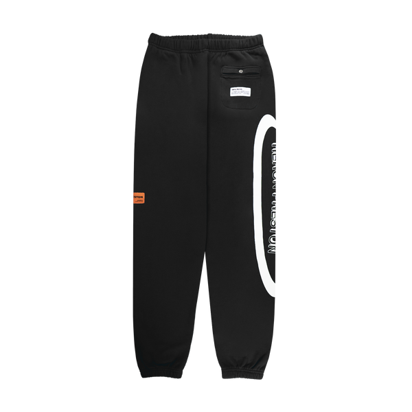 Heron Preston CTNMB Halo Sweatpants 'Black/White'
