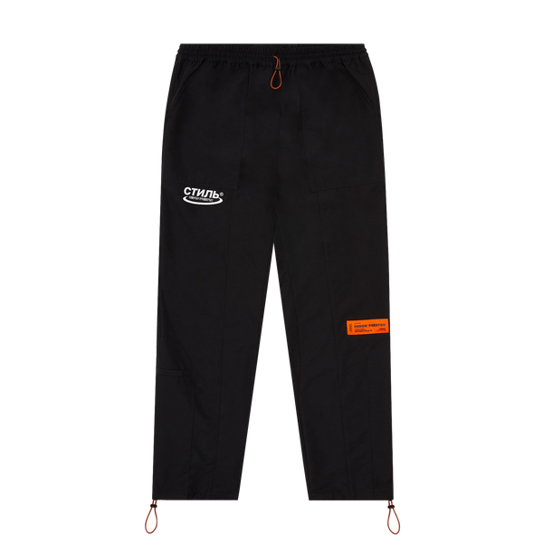 Heron Preston CTNMB Nylon Pants 'Black/White'