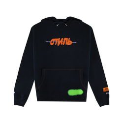 Heron Preston CTNMB Spray Pack Hoodie [Black]