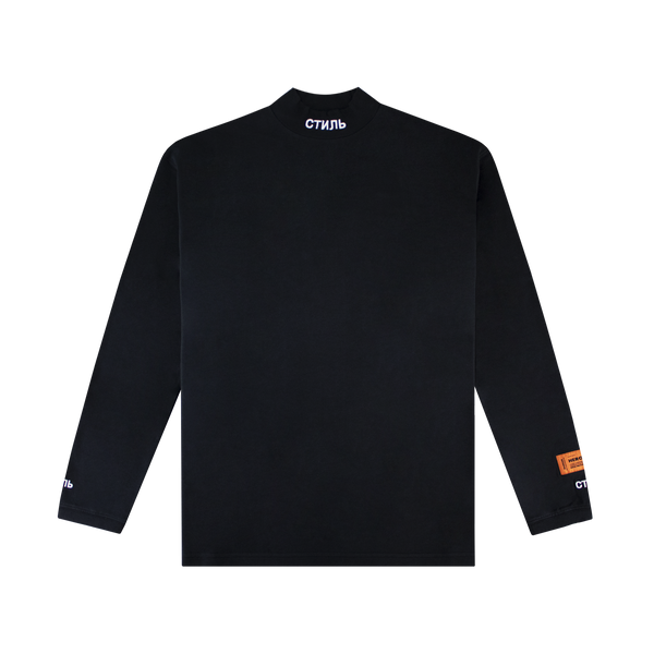 Heron Preston CTNMB Turtleneck [Black]
