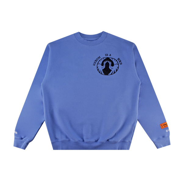 Heron Preston Heron Bird Crewneck 'Blue/Black'