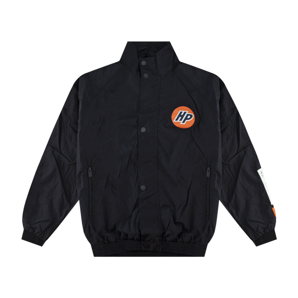Heron Preston HP Nylon Windbreaker 'Black/White'