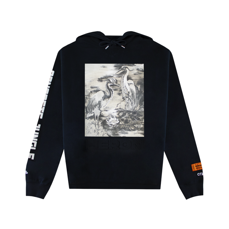 Heron Preston Heron Birds Hoodie [Black]