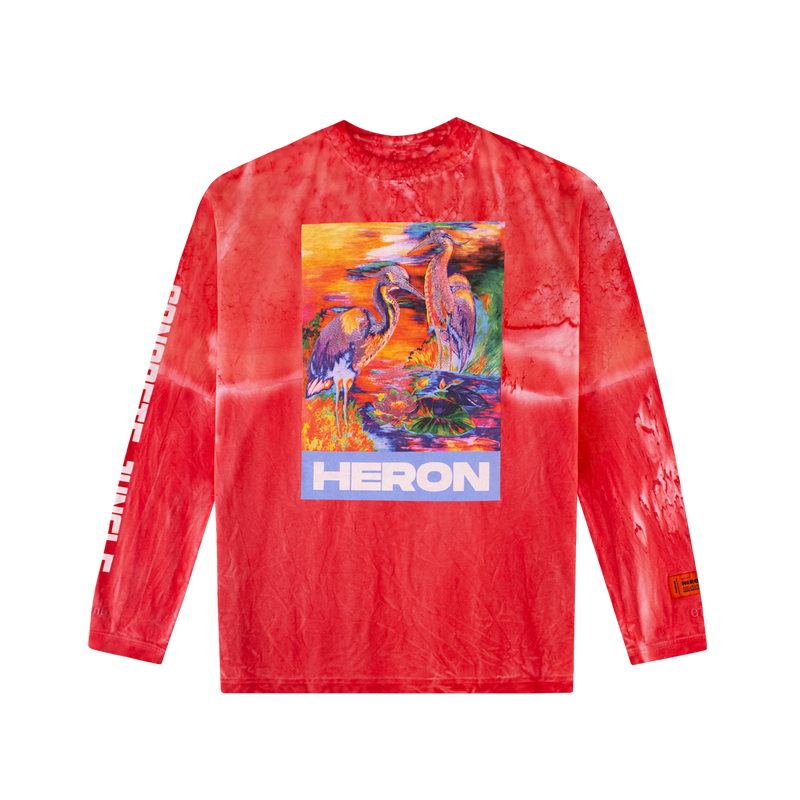 Heron Preston Heron Colors L/S T-Shirt [Fuchsia]