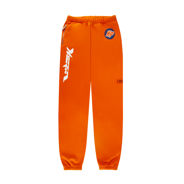 Heron Preston Heron Techno Sweatpants 'Golden Poppy/White'