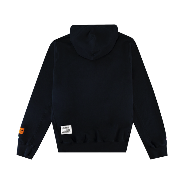 Heron Preston Herons Halo Hoodie 'Black/Blue'