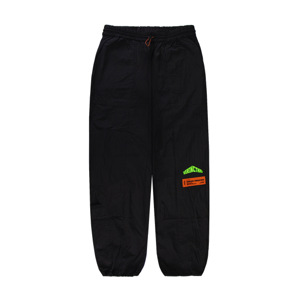 Heron Preston Nylon Pants [Black/Green]