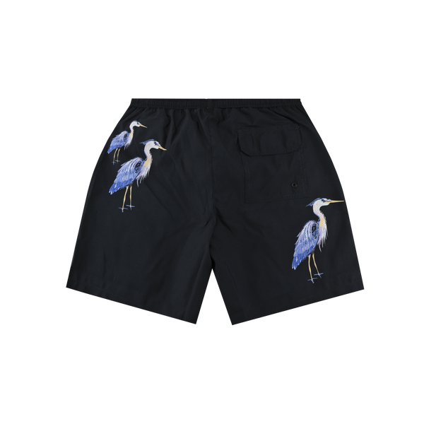 Heron Preston Nylon Swimshorts 'Black'