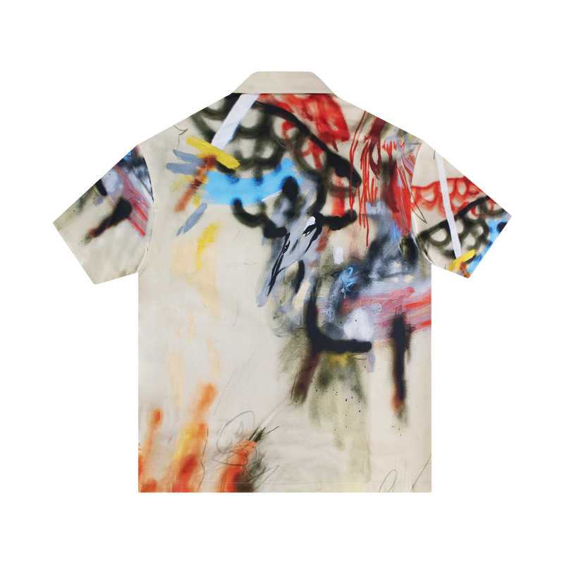 Heron Preston Robert Nava Baseball Shirt [Sand]
