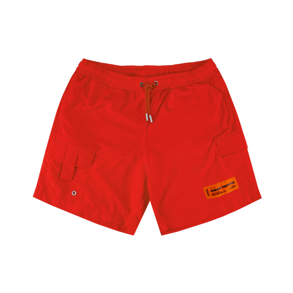 Heron Preston Swim Nylon Shorts [Orange]