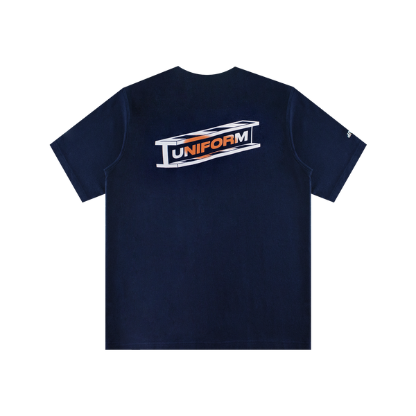 Heron Preston Uniform Total Eclipse S/S Tee 'Navy'
