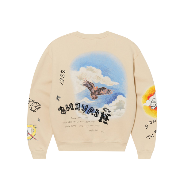 Honor The Gift Heavens Sake Crewneck 'Bone'