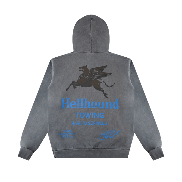 Honor The Gift Hellhound Tow Hoodie 'Vintage Black'