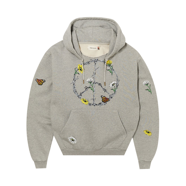 Honor The Gift Iron Peace Hoodie 'Grey'