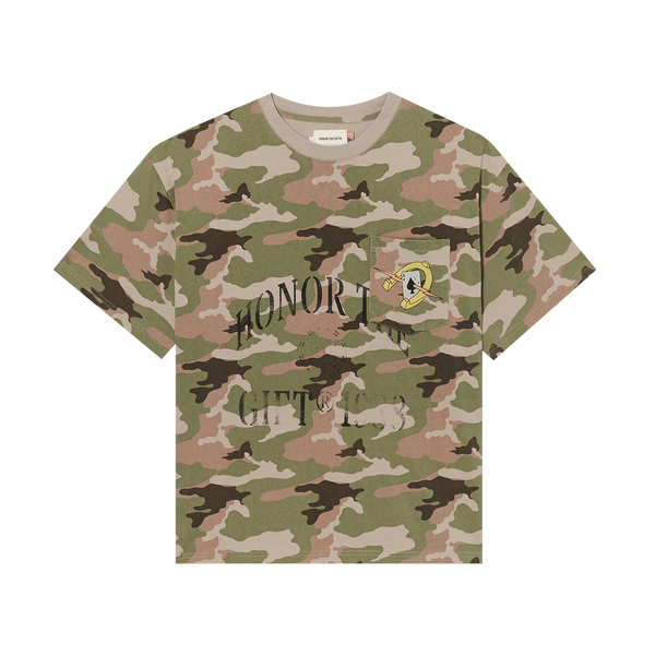 Honor The Gift Pocket Aces S/S Tee 'Camo'