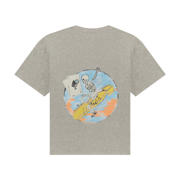 Honor The Gift Pocket Aces S/S Tee 'Grey'