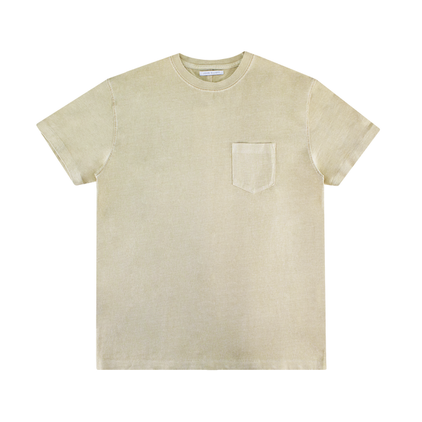 John Elliott Loose Stitch Pocket Tee [Washed Dune]