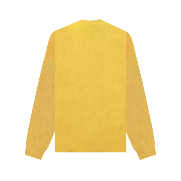 John Elliot L/S University T-Shirt 'Canary'