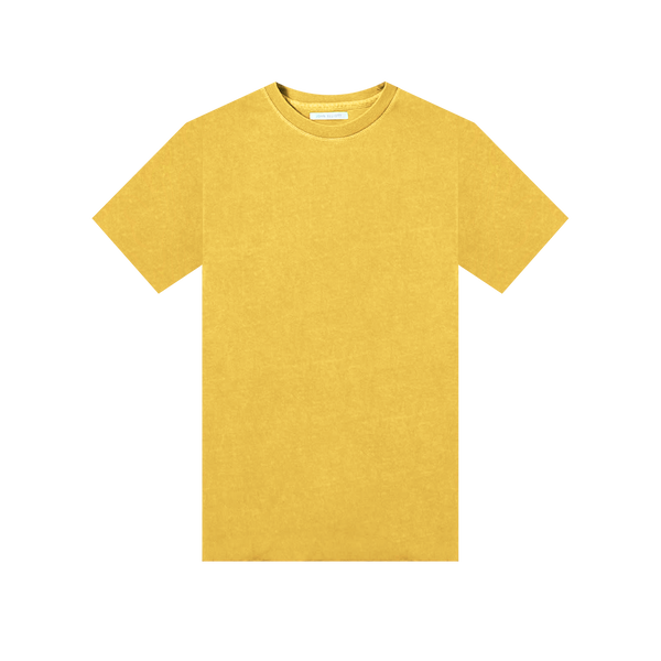 John Elliott S/S University T-Shirt 'Canary'