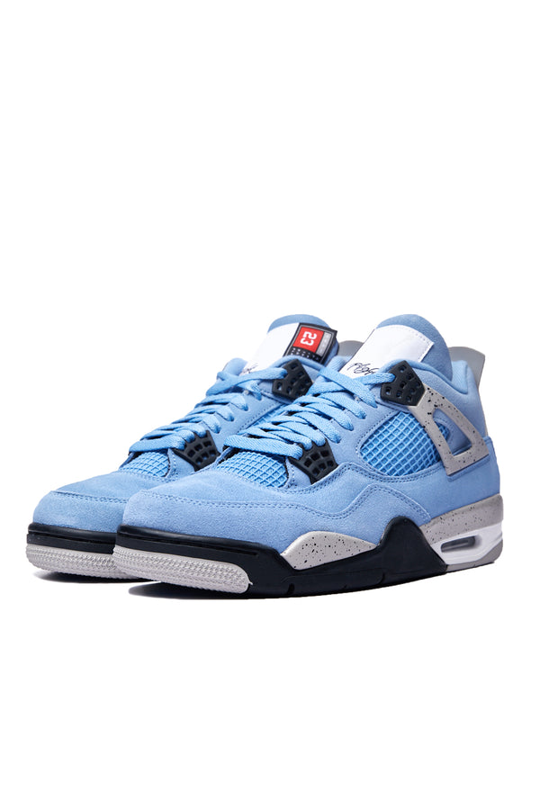Air Jordan 4 Retro 'University Blue/Black/Tech Grey'