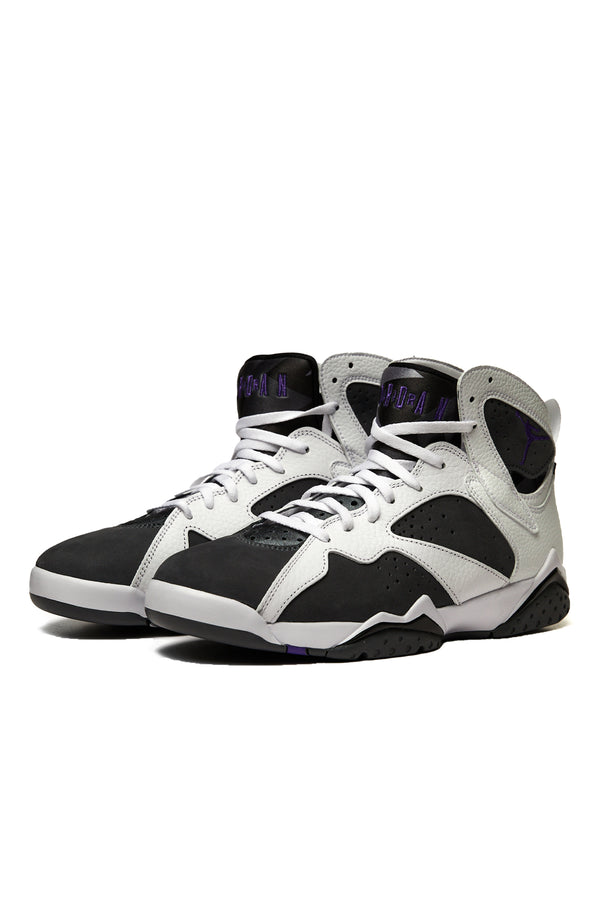 Air Jordan 7 Retro 'White/Varsity Purple/Flint Grey'