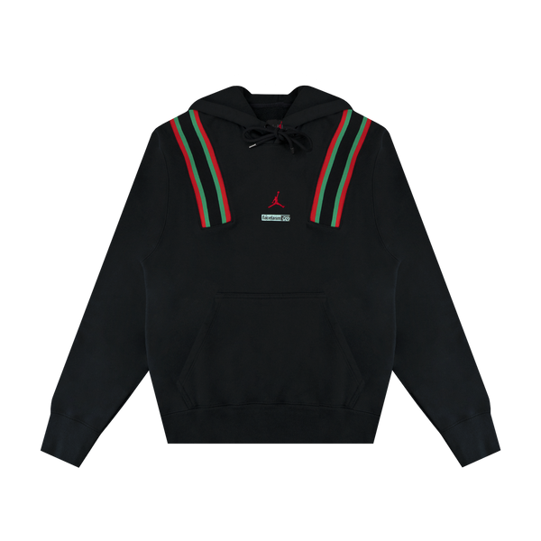 Jordan Facetasm Pullover Fleece 'Black/Stadium Green/Challenge Red'