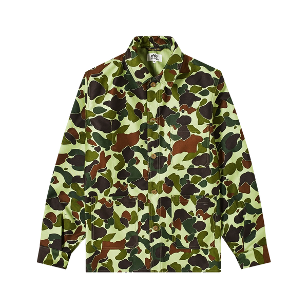 Junya Watanabe Camo Jacket 'Green/Brown'