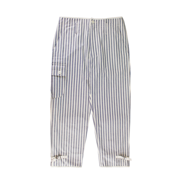 Junya Watanabe MAN Striped Trousers [White/Black]